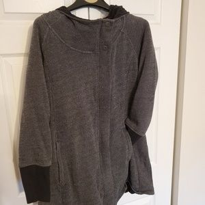 Black/grey coat